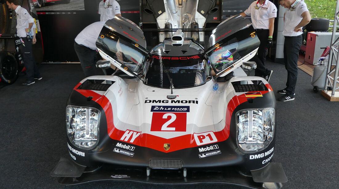Porsche 919 Hybrid - Legendenparade - GP Österreich 2017 - Spielberg