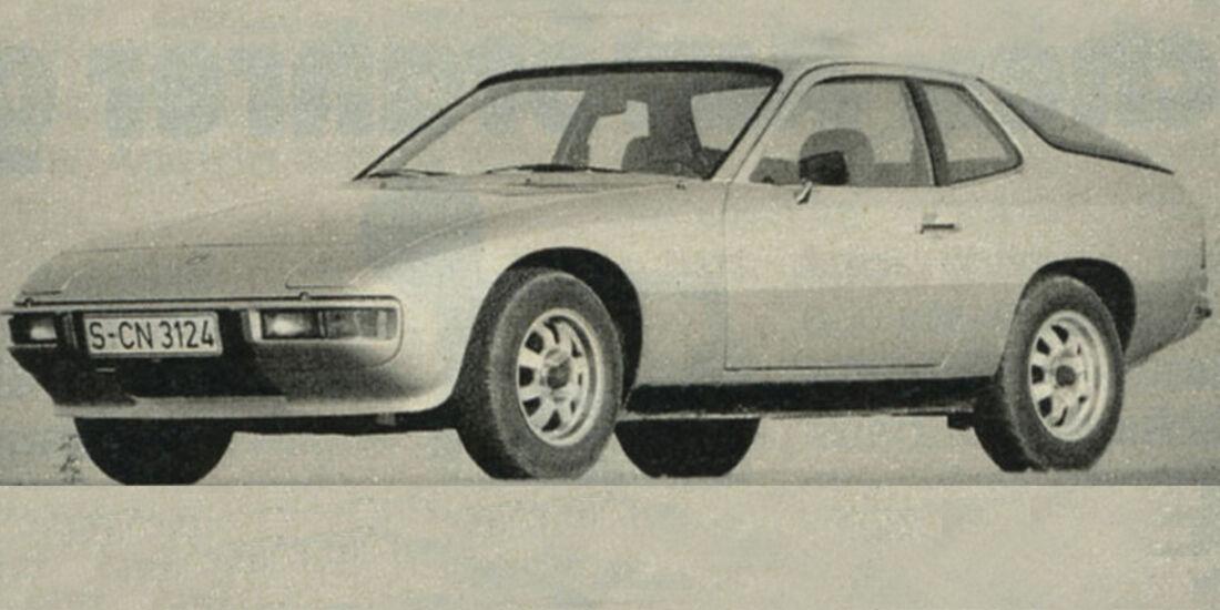 Porsche, 924, IAA 1981