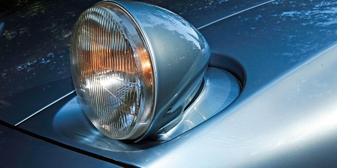 Porsche 928, Frontscheinwerfer, Klappscheinwerfer