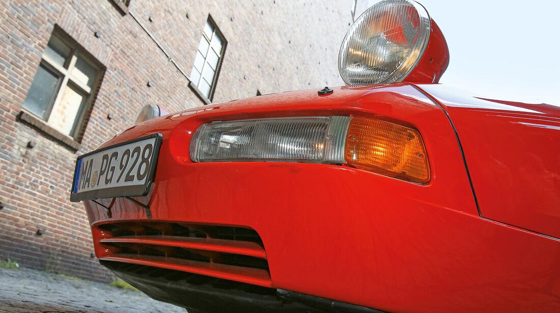 Porsche 928 GT, Frontscheinwerfer