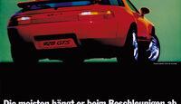 Porsche 928, Heckansicht
