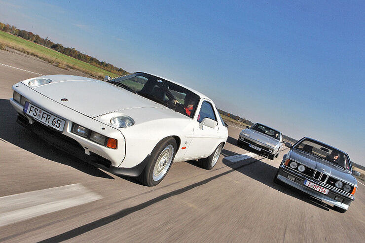 Porsche 928 S, Ferrari 412, BMW 635 CSU