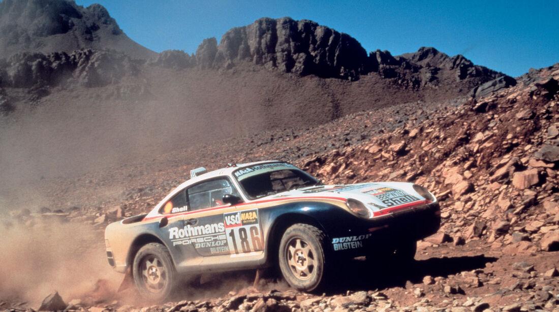 Porsche 959 Rallye Dakar 1986