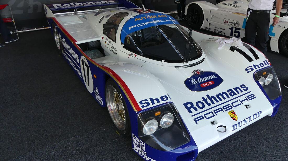Porsche 962c - Legendenparade - GP Österreich 2017 - Spielberg