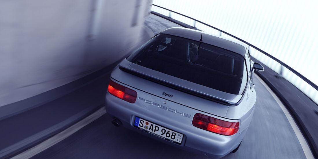 Porsche 968, Heck