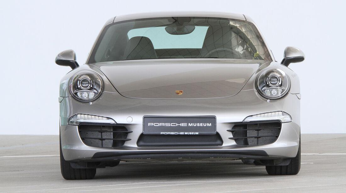 Porsche 991, Frontansicht