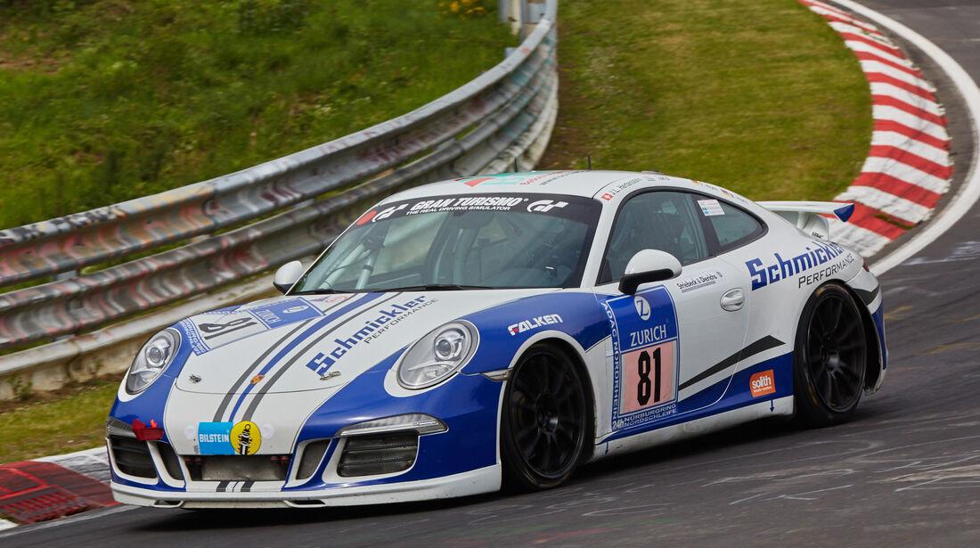 "Porsche 991 - Startnummer: #81 - Bewerber/Fahrer: Markus Horn, Felix Horn, Jean-Louis Hertenstein, ""Takis"" - Klasse: SP6"