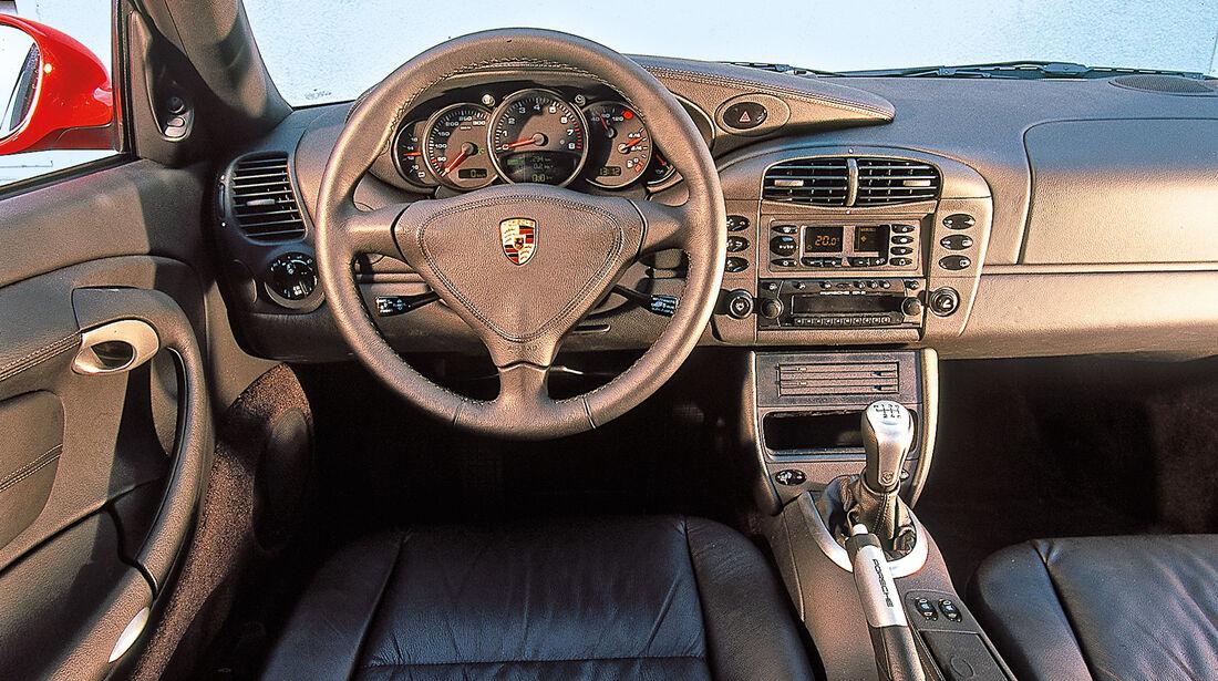 Porsche 996, Cockpit