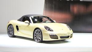 Porsche Boxster, Autosalon Genf 2012, Messe