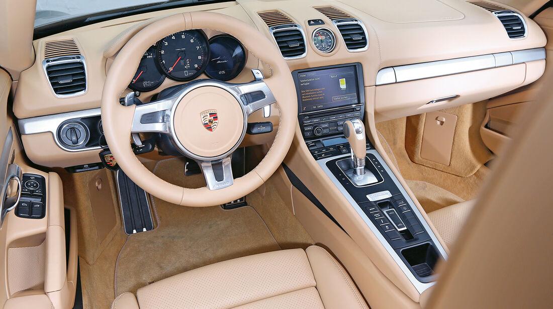 Porsche Boxster, Cockpit