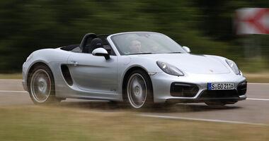 Porsche Boxster GTS, Frontansicht