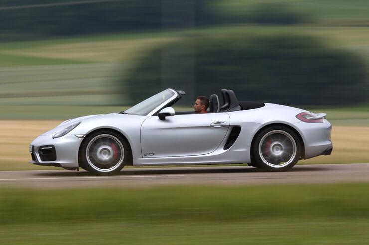 Porsche Boxster GTS, Seitenansicht