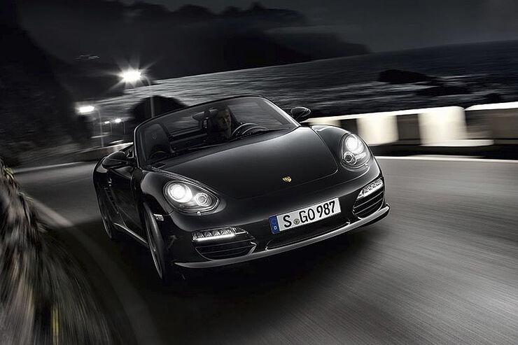 Porsche Boxster S Black Edition Sondermodell