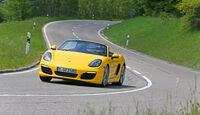 Porsche Boxster S, Front
