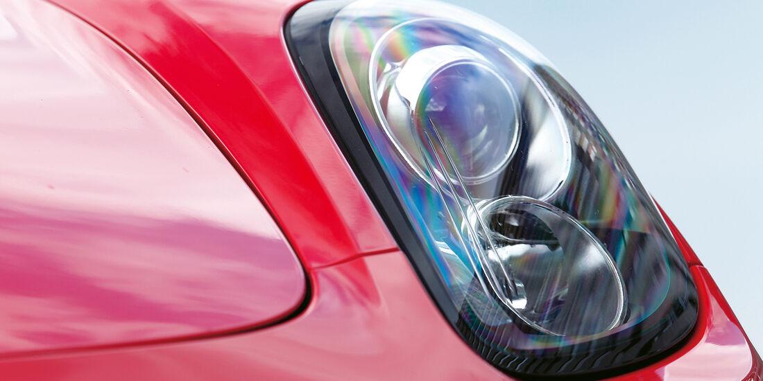 Porsche Boxster S, Frontscheinwerfer