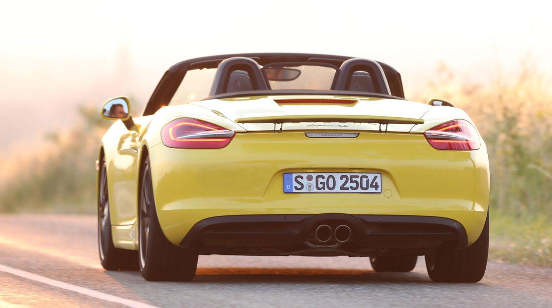 Porsche Boxster S, Heckansicht