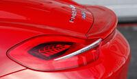 Porsche Boxster S, Heckspoiler, Heckschürze