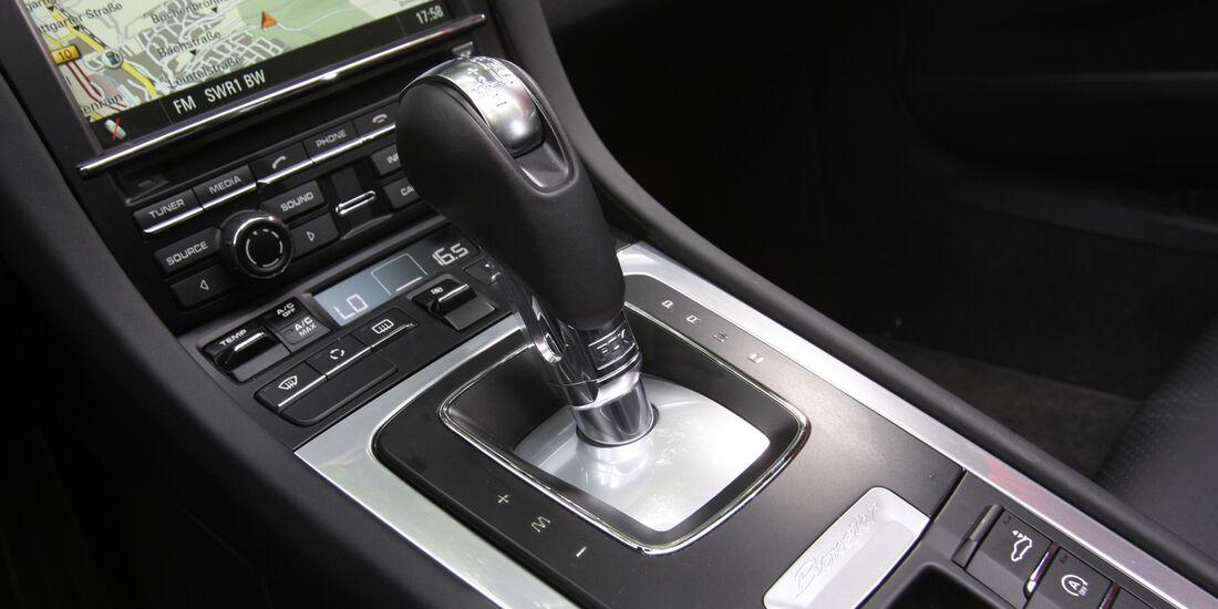 Porsche Boxster S, Schalthebel, Schaltung