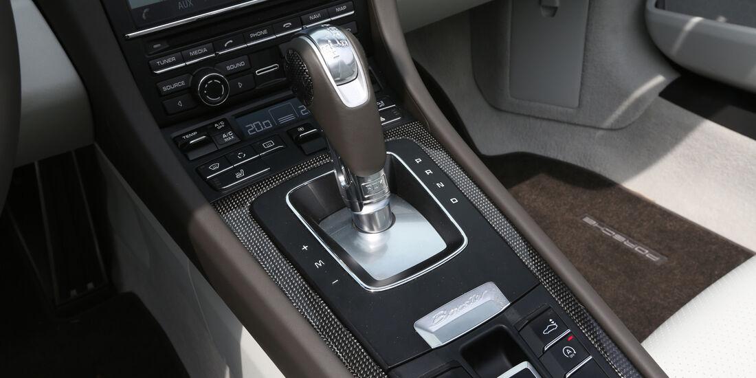 Porsche Boxster S, Schalthebel