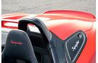 Porsche Boxster Spyder, Kopfstütze