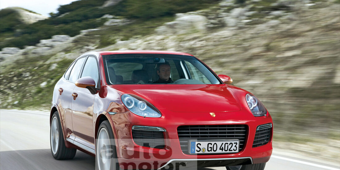 Porsche Cajun, Retusche