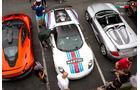 Porsche Carrera GT & 918 - 200 mph Supercarshow - Newport Beach - Juli 2016