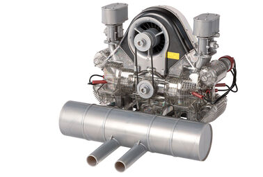 Carrera-Rennmotor im Maßstab1:3