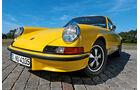 Porsche Carrera RS 2.7, Frontscheinwerfer