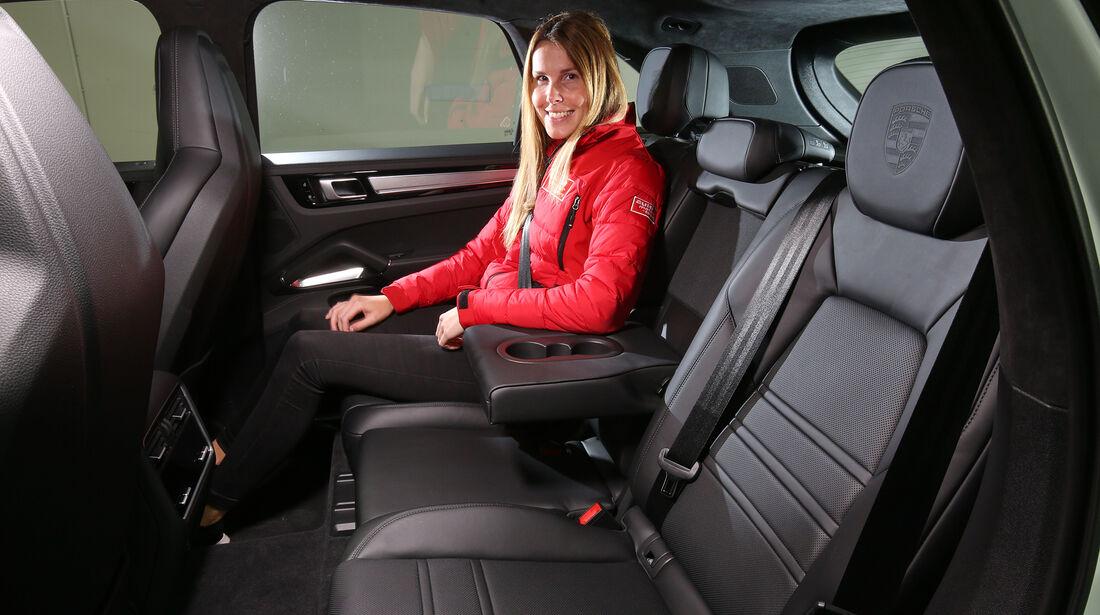 Porsche Cayenne Coupé Rückbank