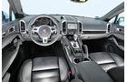 Porsche Cayenne Diesel, Cockpit, Lenkrad