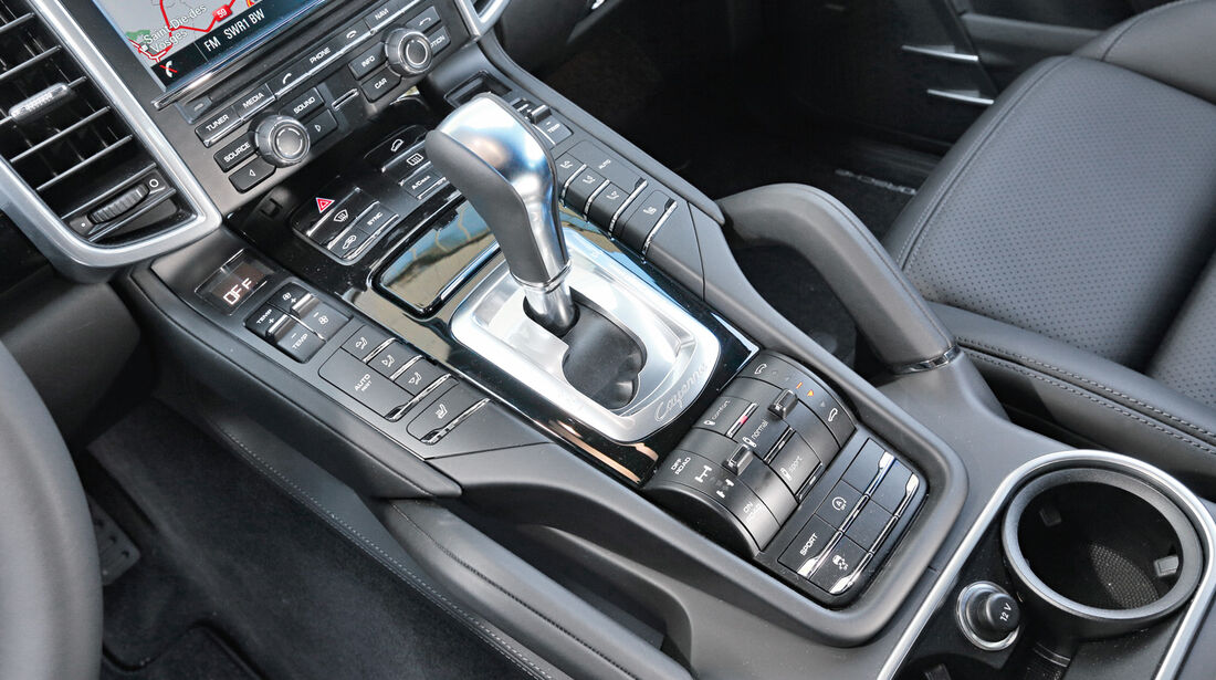 Porsche Cayenne Diesel, Schalthebel