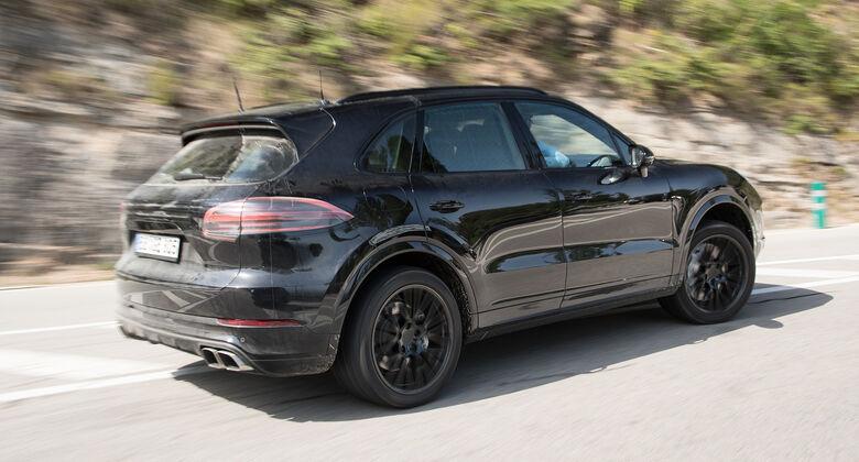 Porsche Cayenne Tests Auto Motor Und Sport