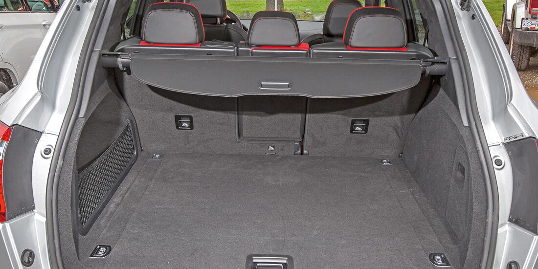 Porsche Cayenne, Kofferraum