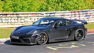 Porsche Cayman 718 GT4 Erlkönig