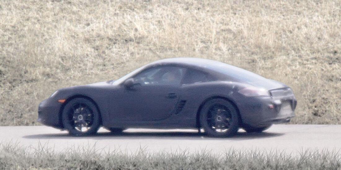 Porsche Cayman Erlkönig