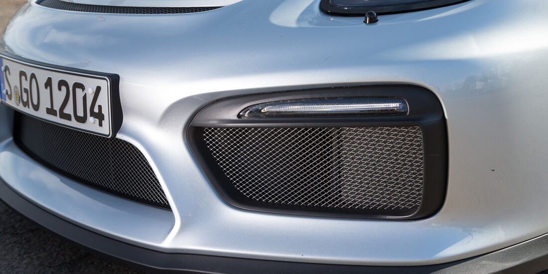 Porsche Cayman GT4, Frontscheinwerfer