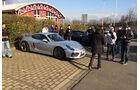 Porsche Cayman GT4, Parkplatz