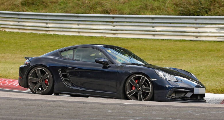 Porsche Cayman GTS Erlkönig