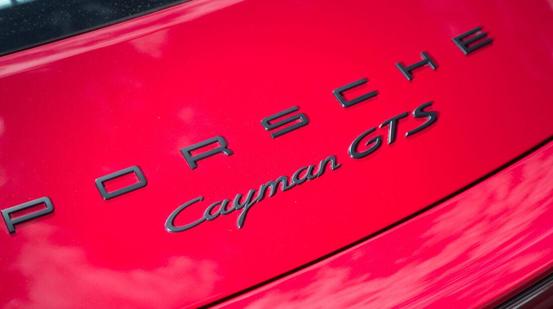 Porsche Cayman GTS, Typenbezeichnung