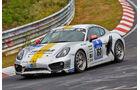 Porsche Cayman S - Black Falcon Team TMD Friction - Startnummer: #160 - Bewerber/Fahrer: Markus Enzinger, Christian Reiter, Jean-Louis Hertenstein, Panagiotis Spiliopoulos - Klasse: V6