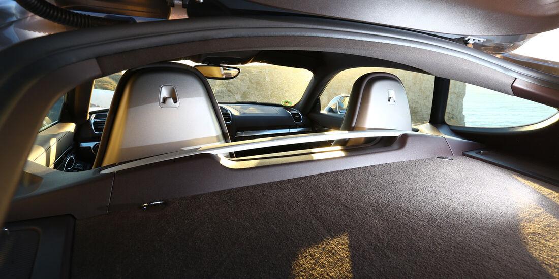 Porsche Cayman S, Kopfstützen