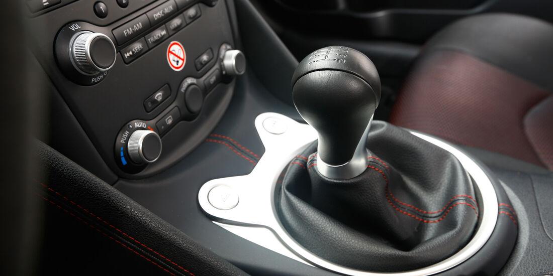 Porsche Cayman S, Schalthebel