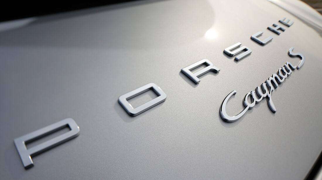 Porsche Cayman S, Typenbezeichnung