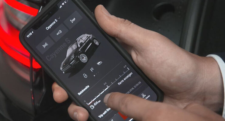 Porsche Connectivity Special Smartphone App Connect