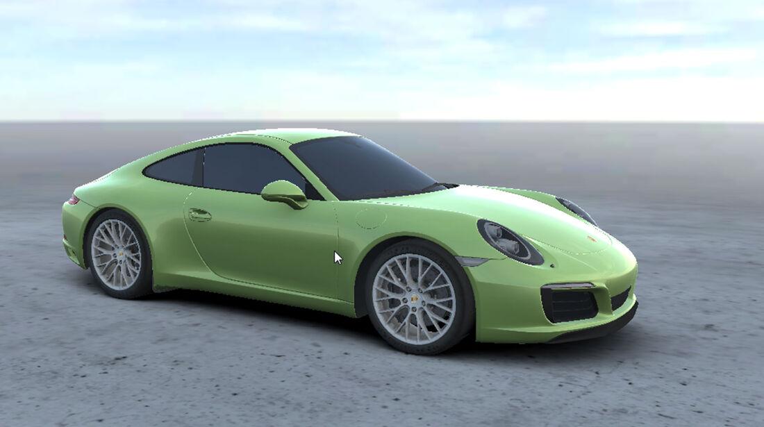 Porsche Folierung Second Skin