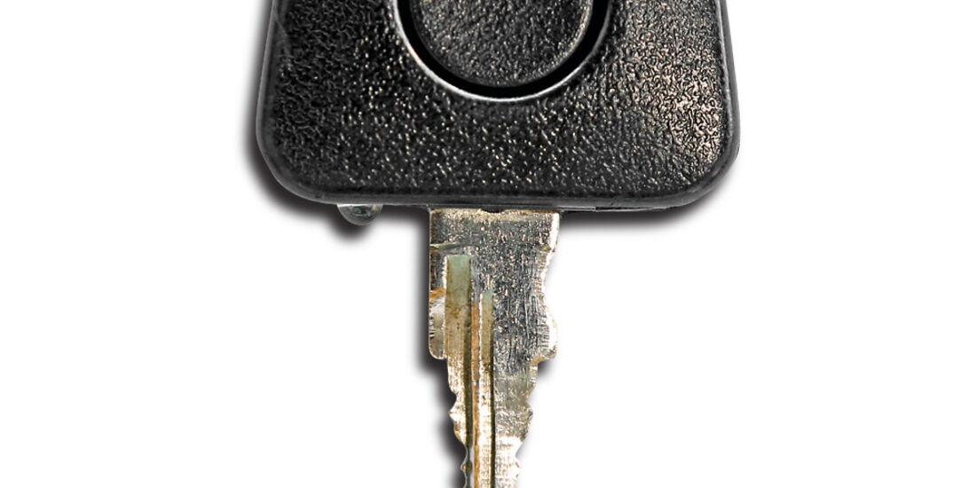 Porsche G-Modell, Zündschlüssel
