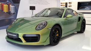 Porsche-Lackierung, Chromaflair, 911 Turbo S, Porsche Exklusive