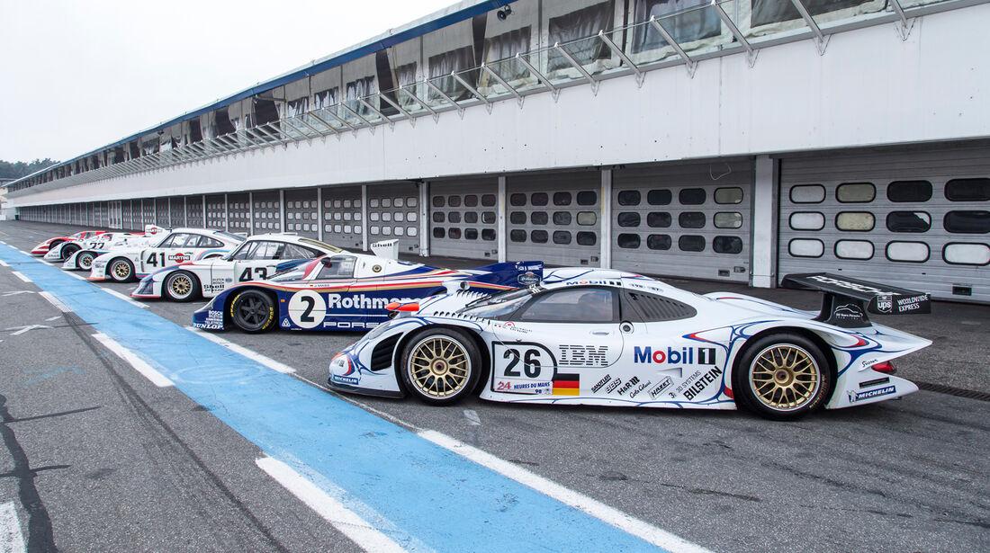 Porsche Le Mans-Legenden - Hockenheim 2013
