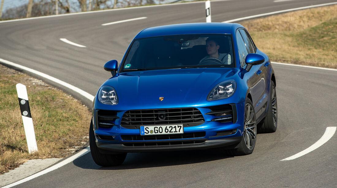Porsche Macan S, Exterieur