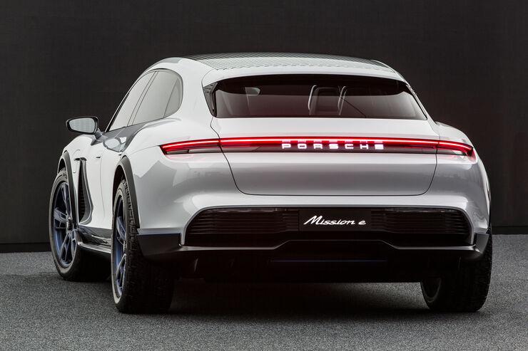 Porsche Mission E Cross Turismo 2018 Fotos Marktstart
